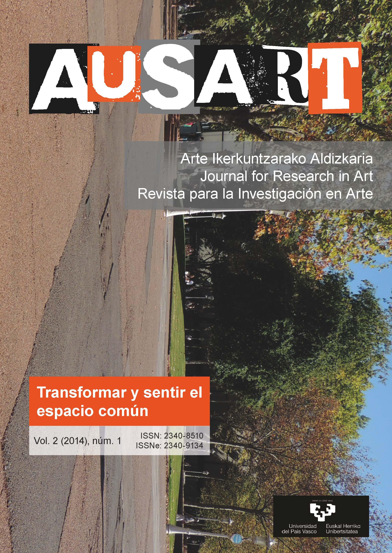 Portada AusArt vol. 2, número 1 (2014)