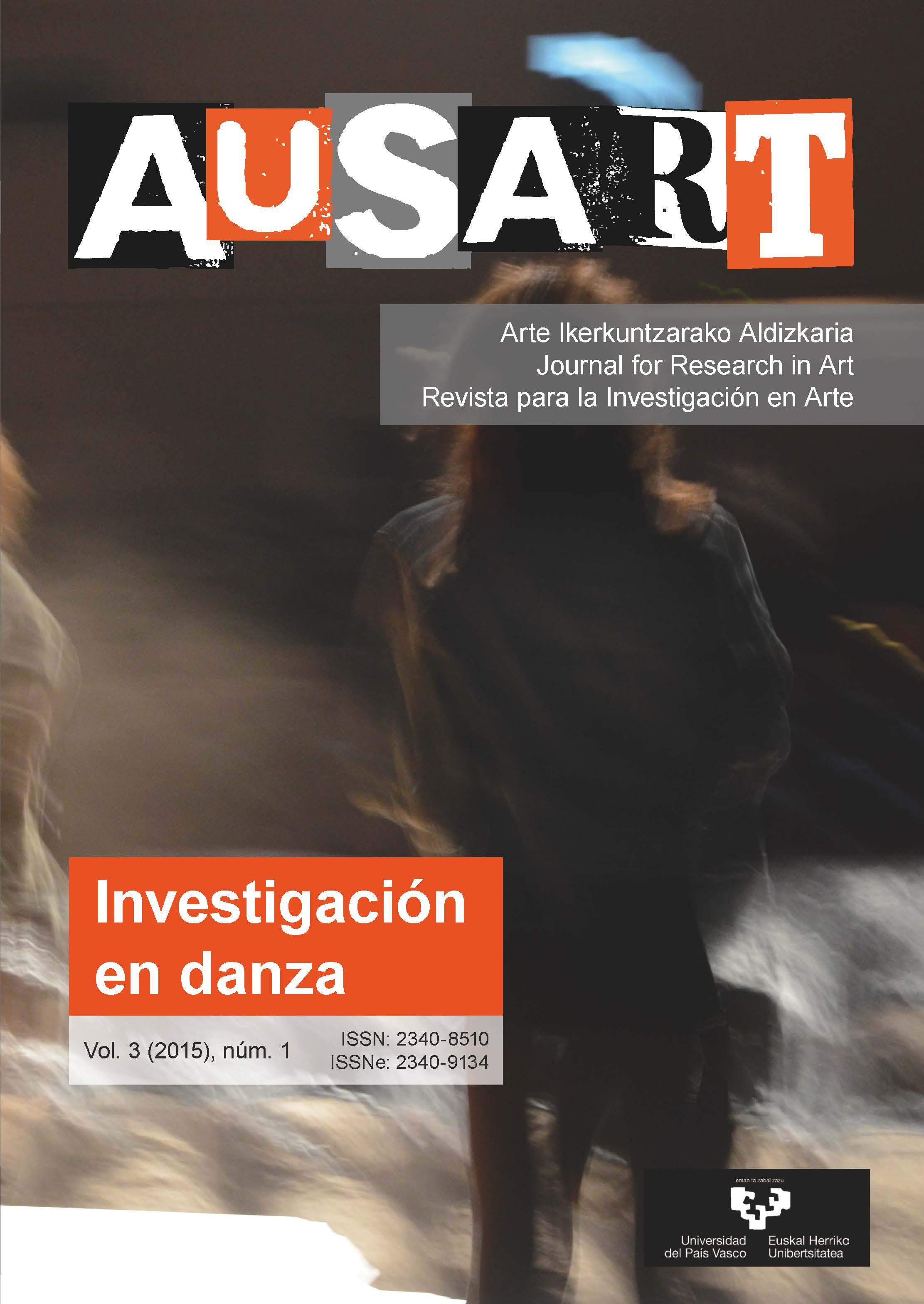 Portada AusArt vol. 3, número 1 (2015)