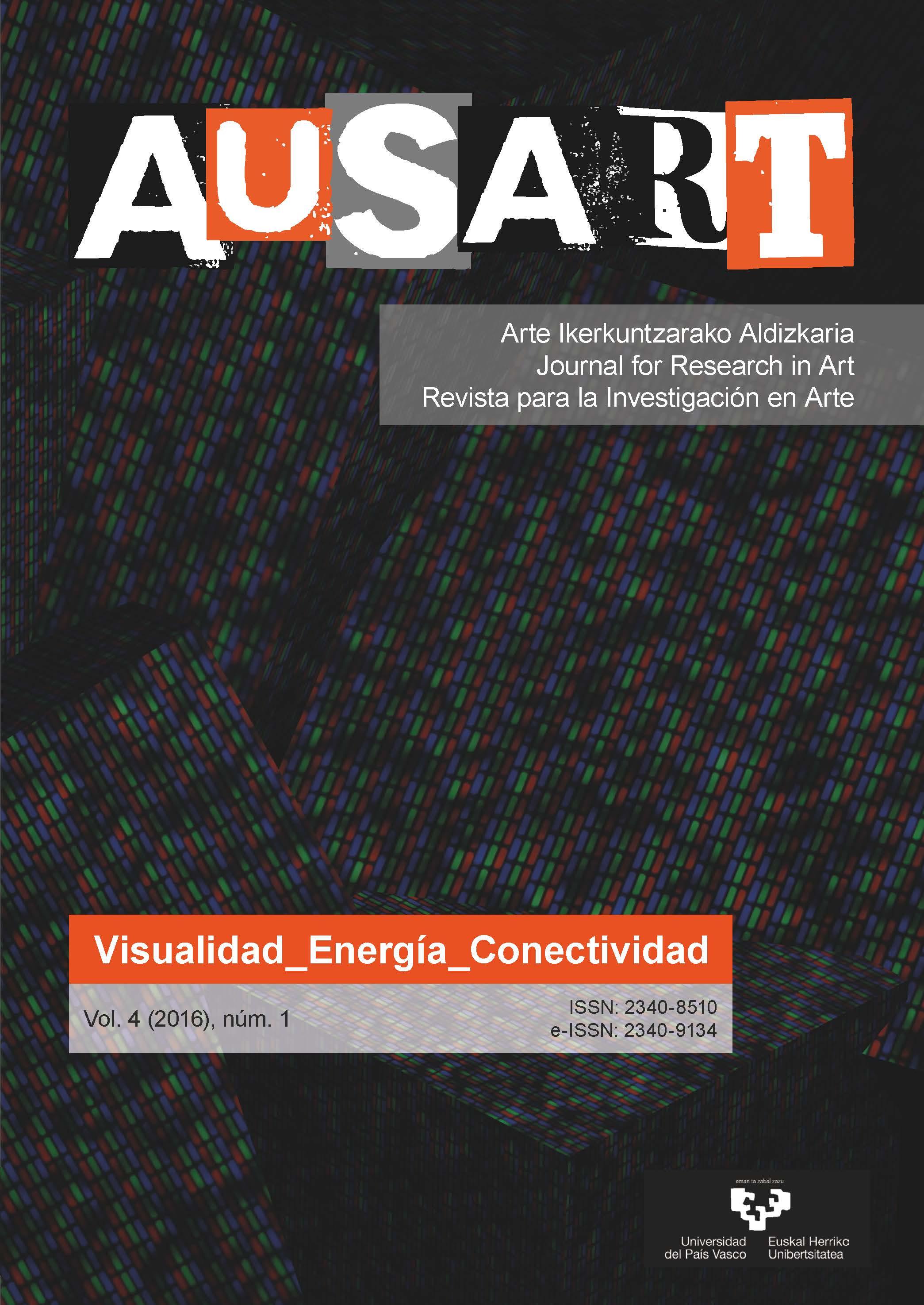 Portada AusArt vol. 4, número 1 (2016)