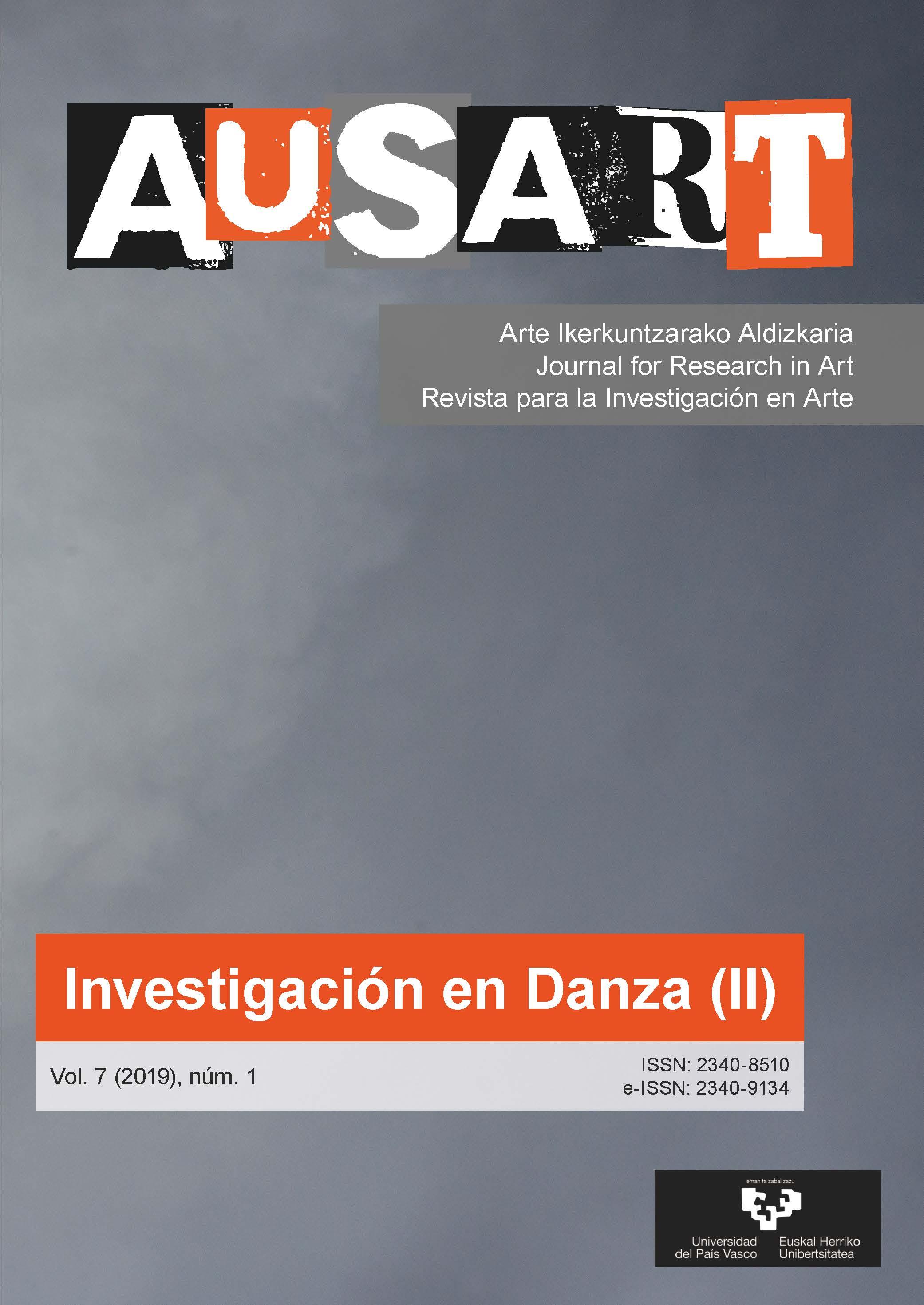 Portada AusArt vol. 7, número 1 (2019)