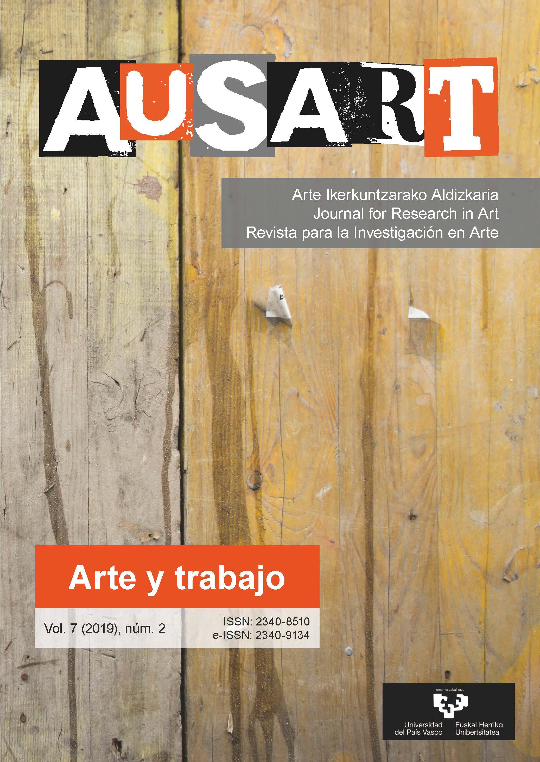 Portada AusArt vol. 7, número 2 (2019)