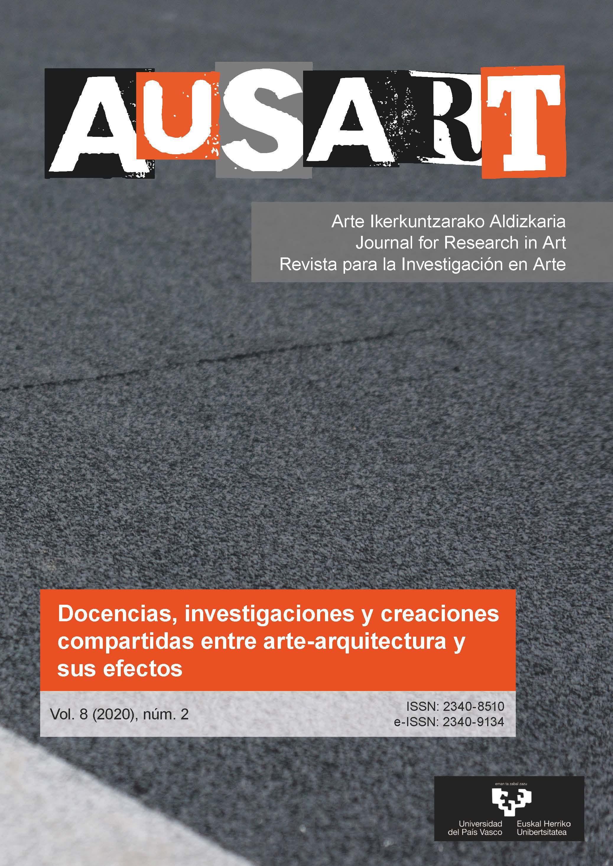Portada AusArt vol. 8, número 2 (2020)